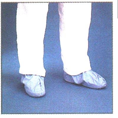 Item 66857 Shoe Cover Seamless Blue Polyethylene Film