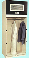 Garment Storage Cab. w/Hanger Bar Only p94