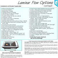 Laminar Flow Options